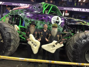 Allstate Arena with Grave Digger!!
